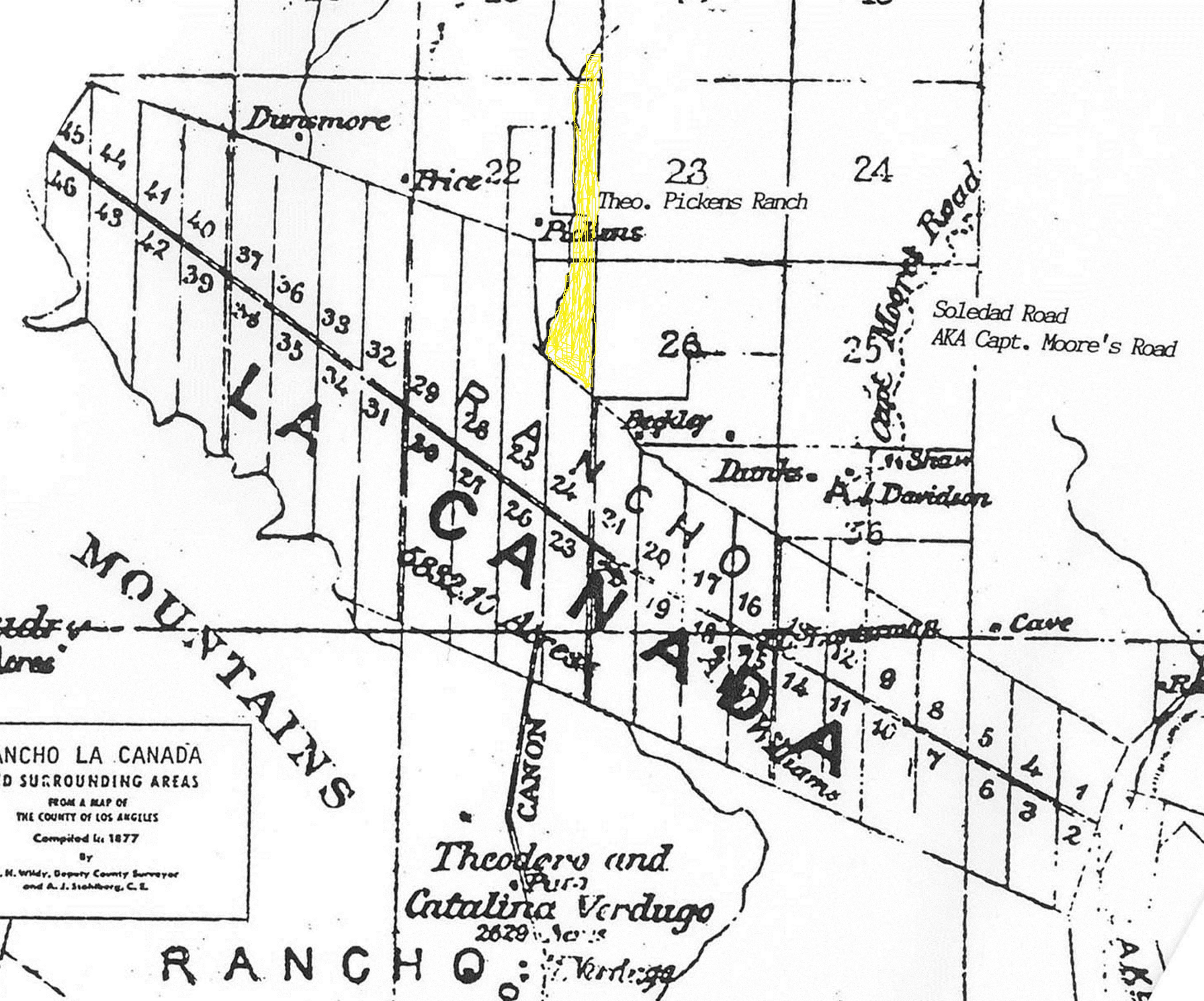 Document Library Unite La Cañada Flintridge - Los angeles unified map